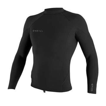 O'Neill Men's Reactor II 1.5MM Long Sleeve Crew - Blk/Blk/Blk