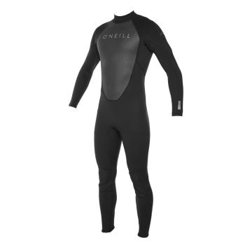 O'Neill Men's Reactor II 3/2mm Full Wetsuit - Blk/Blk/Blk
