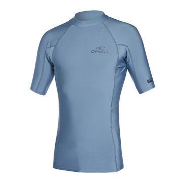 O'Neill 2021 Men's Basic Skins Short Sleeve Crew - Dusty Blue