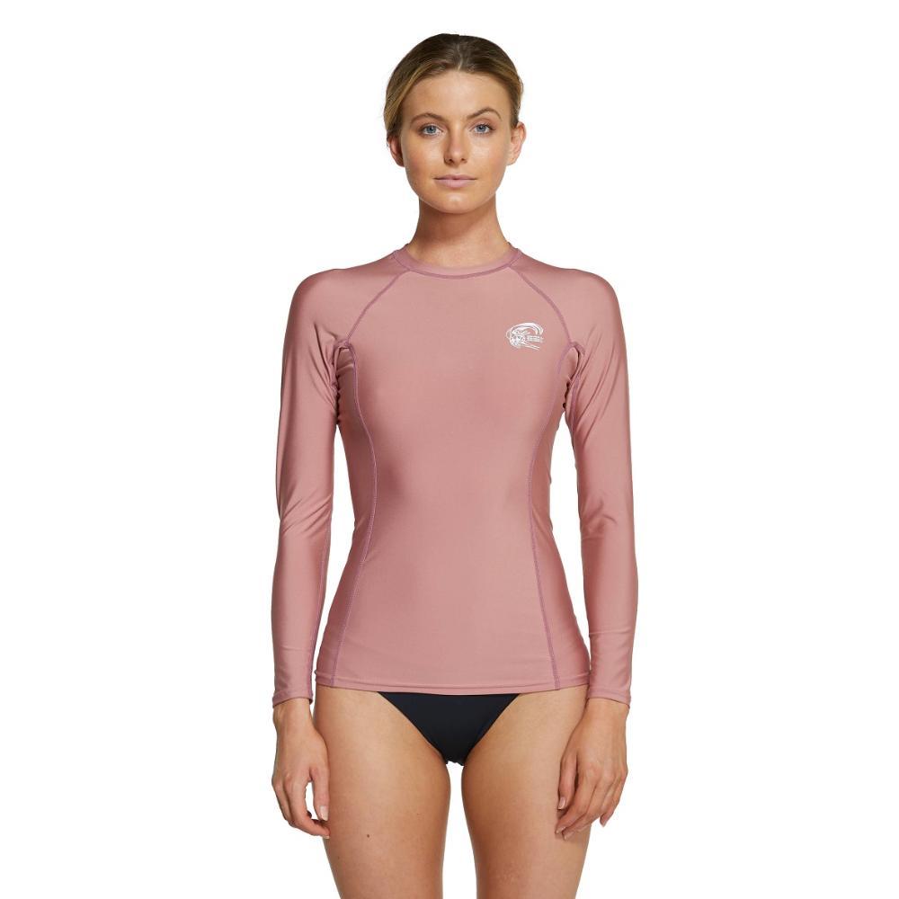 2021 Women's Basic Skins Long Sleeve Crew