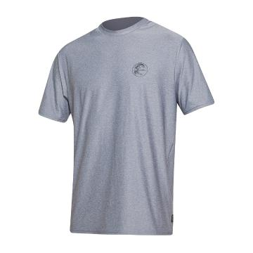 O'Neill 2021 Men's 24-7 Hybrid Short Sleeve Surf Tee - Smoke