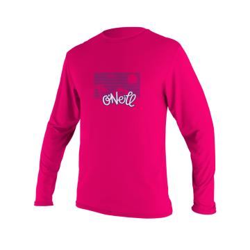 O'Neill Toddler Skins Long Sleeve Rash Tee - Watermelon