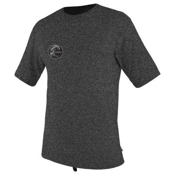 O'Neill Men's 24/7 Hybrid Short Sleeve Rash Top - Black