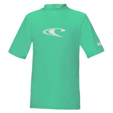 O'Neill Youth Basic Short sleeve Rash Tee - Seaglass