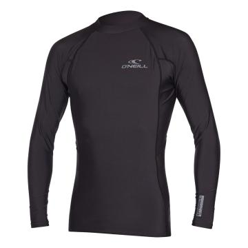 O'Neill Men's Basic Skins Long Sleeve Crew - Black