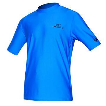 O'Neill Youth Basic Short Sleeve Rash Tee - Brite Blue