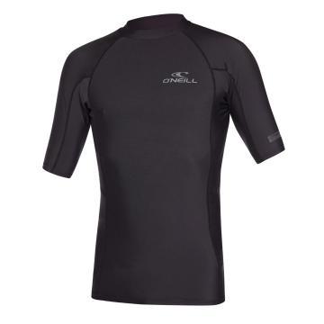 O'Neill Men's Basic Skins Short Sleeve Crew - Black