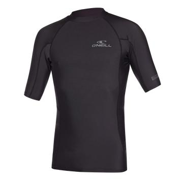 O'Neill Men's Basic Skins Short Sleeve Crew - Black