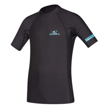 O'Neill Youth Basic Skins Short Sleeve Crew - Black