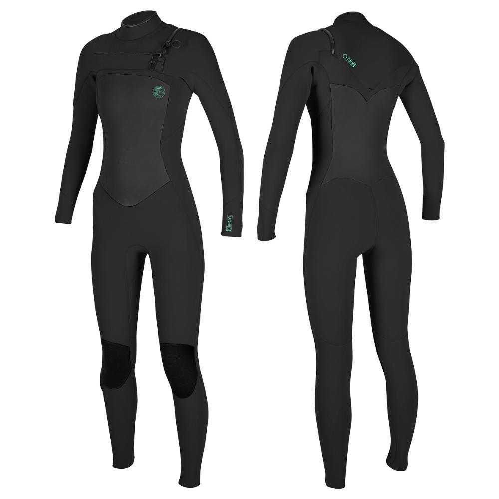 Women's Focus Chest Zip Sealed Full 4/3mm Wetsuit