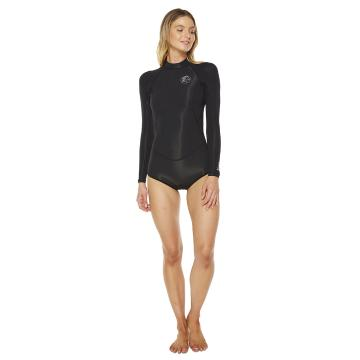 O'Neill Womens Bahia 2MM LS Spring Suit - Blk/Blk/Blk