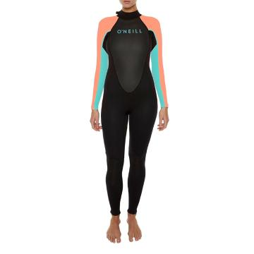 O'Neill 2018 Women's 3/2mm Reactor Steamer Wetsuit - Back Zip