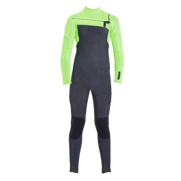 O'Neill 2020 Youth Hyperfreak Chest Zip 4/3 Fuze Steamer Wetsuit - Acidwash/Dglo/Dglo