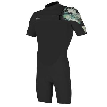 O'Neill Youth Superfreak 2/1MM Spring Suit - Blk/Blk/Taco