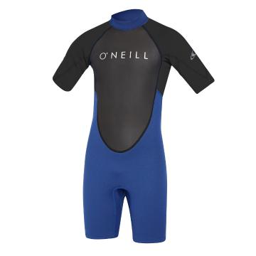O'Neill Youth Reactor II 2MM Short Sleeve Spring - Ocean/Black