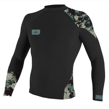 O'Neill Youth Superfreak LS Crew - Blk/Taco/Blk