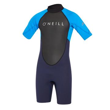 O'Neill Youth Reactor II 2mm Short Sleeve Spring - Abyss/Ocean