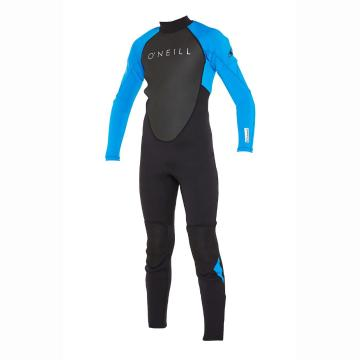 O'Neill Youth Reactor II 3/2mm Wetsuit - Black/Ocean