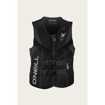 O'Neill Men's Reactor USCG/UCL Vest - Black - BLK BLK BLK