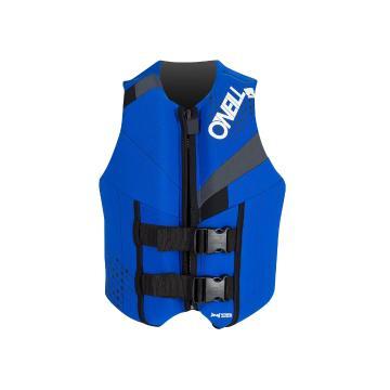 O'Neill Teen Reactor USCG Vest  - Blue