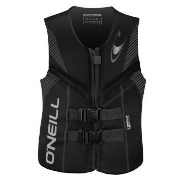 O'Neill Men's Reactor USCG Wake Vest - Blk/Blk/Blk