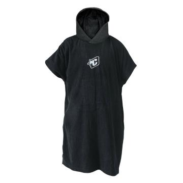 Creatures of Leisure Change Poncho Towel - Black