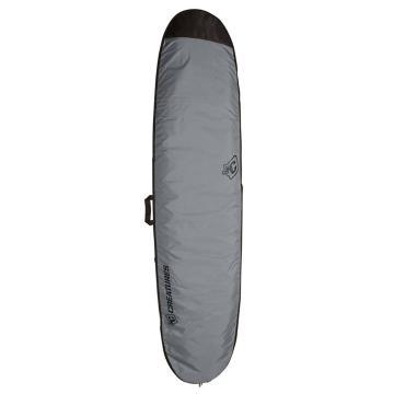 "Creatures of Leisure 8'6"" Longboard Lite Board Cover w/Fin Slot - Charcoal Black"