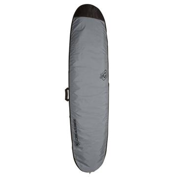 "Creatures of Leisure 8'6"" Longboard Lite Board Cover w/Fin Slot - Charcoal Black"