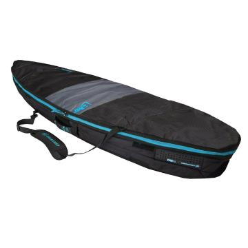 """Creatures of Leisure 5'8"""" Shortboard Day Use Cover  - Charcoal/Cyan"""