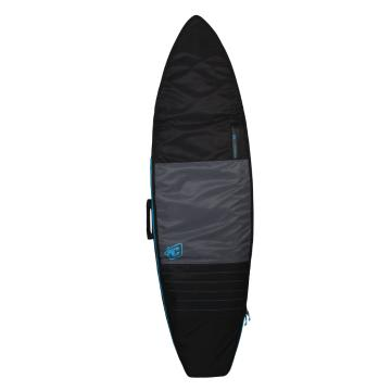"""Creatures of Leisure 6'3"""" Shortboard Day Use Cover - Charcoal/Cyan"""