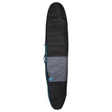 """Creatures of Leisure 9'6"""" Longboard Day Use Surfboard Cover   - Charcoal/Cyan"""