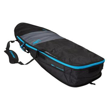 """Creatures of Leisure 6'3"""" Fish Day Use Surfboard Bag - Charcoal/Cyan"""