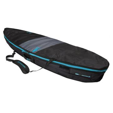 """Creatures of Leisure 6'7"""" Short Board Day Use Cover - Charcoal/Cyan"""
