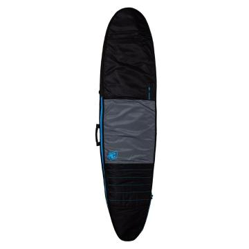 Creatures of Leisure 8'6 Longboard Day Use Board Bag - Charcoal/Cyan