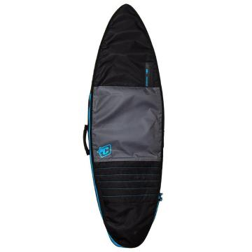Creatures of Leisure 6ft7 Shortboard Day Use - Charcoal/Cyan
