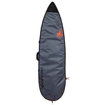 Creatures of Leisure 6ft7 Shortboard Lite - Charcoal/Cyan