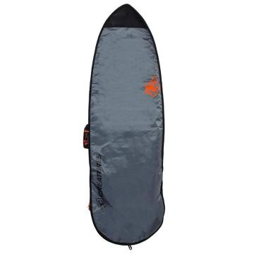 Creatures of Leisure 7ft1 Fish Lite Boardcover - Charcoal/Cyan