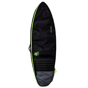 Creatures of Leisure 6ft3 Shortboard Double - Black/Lime