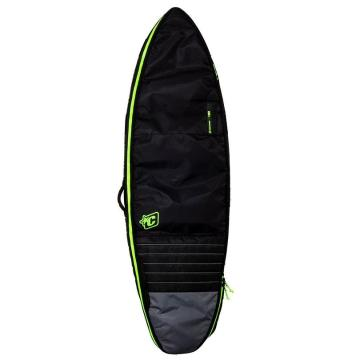 Creatures of Leisure 6ft7 Shortboard Double - Black/Lime