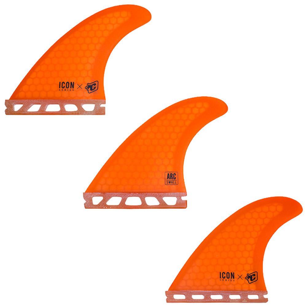 Arc Icon Core Flex Single Tab Tri Fins - Small