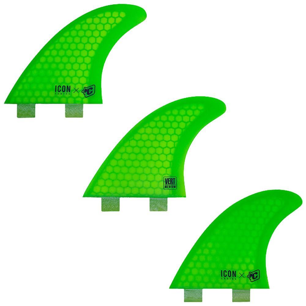 Vert Icon Core Flex Dual Tab Tri Fins - Medium