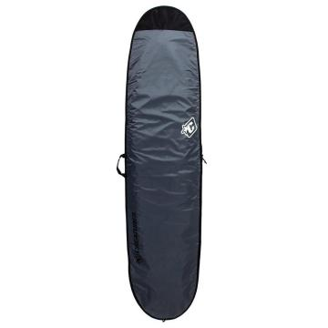 Creatures of Leisure 8ft6 Longboard Lite Boardcover - Charcoal/Cyan