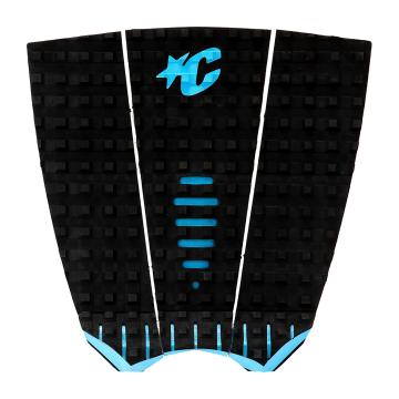 Creatures of Leisure Mick Fanning Traction Pad - Black Cyan