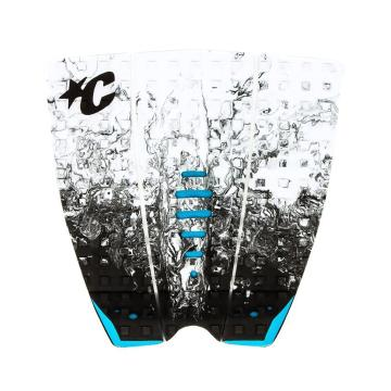 Creatures of Leisure Mick Fanning Pro Grip Traction Pad - WhiteFadeCyan