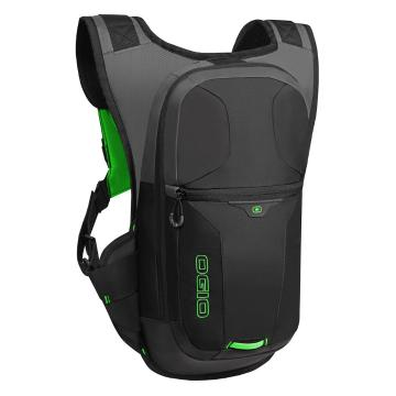 Ogio Atlas Hydration Pack - 3L - Black/High Vis Green