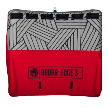 Radar Edge 3 Person Inflatable Tube - Red/Geometric