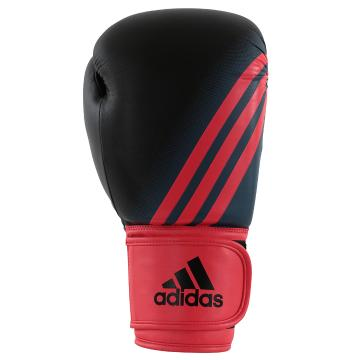 Adidas Fitness Women's Speed 100 Boxing Gloves Blk/Red - Black/Red