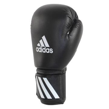 Adidas Fitness Kids Boxing Gloves - Black/White
