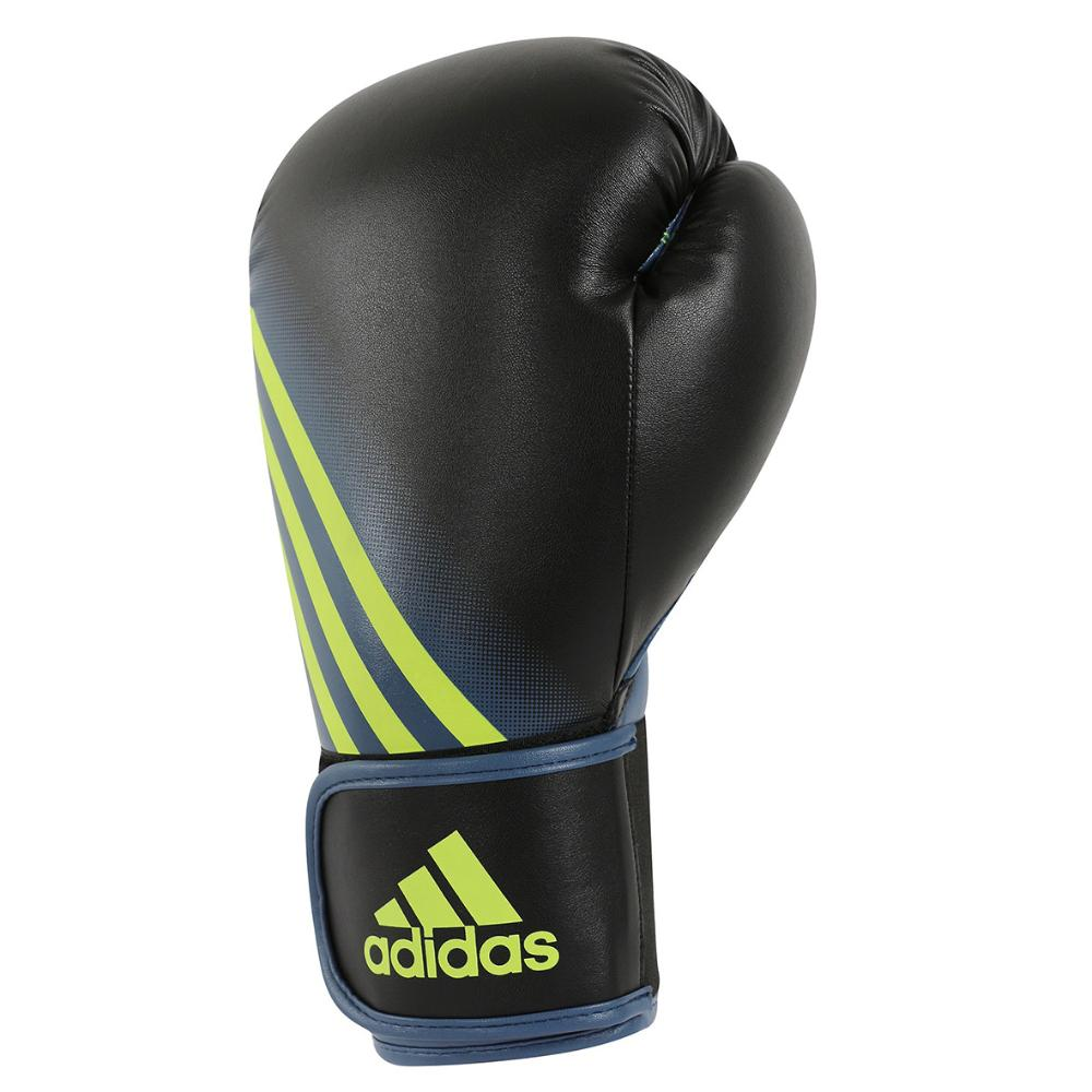 Speed 100 Boxing Gloves - Black/ Solar Yellow