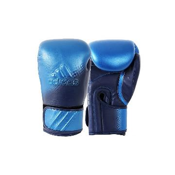 Adidas Fitness Speed 300 Boxing Gloves - Metalic Blue/Navy